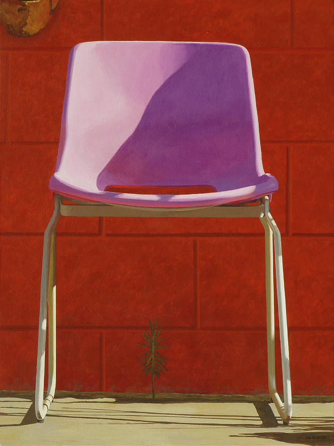 Pool Chair Painting