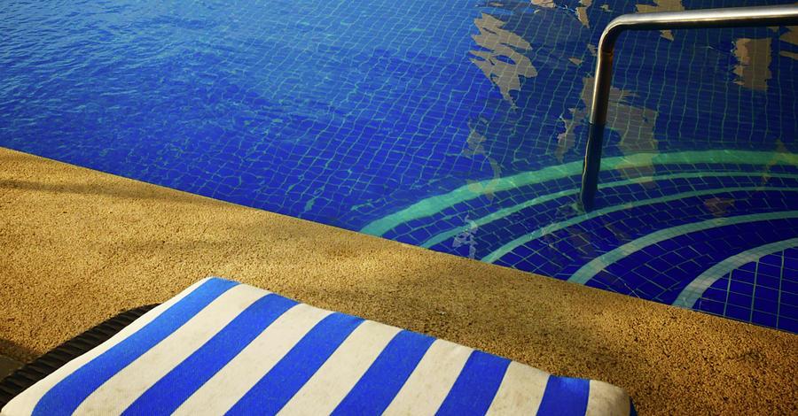 Poolside by Doug Matthews