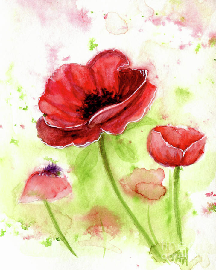 Poppies Painting