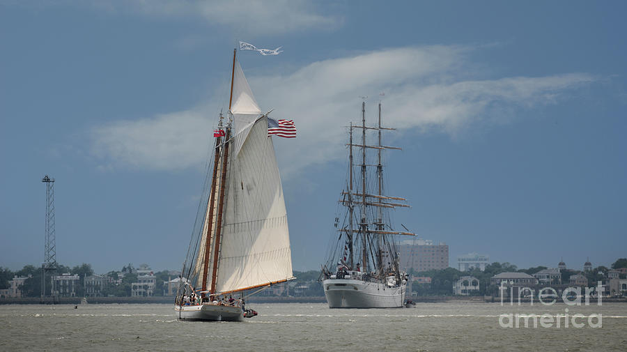 Port Of Call - Charleston South Carolina Photograph