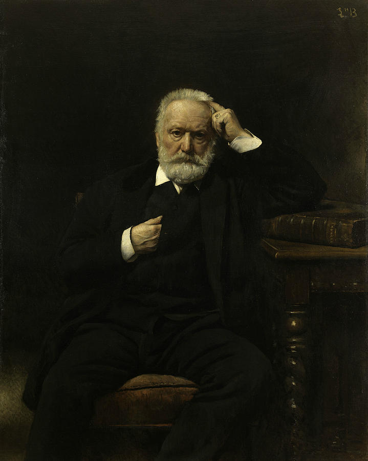 Portrait of Victor Hugo by Leon Bonnat