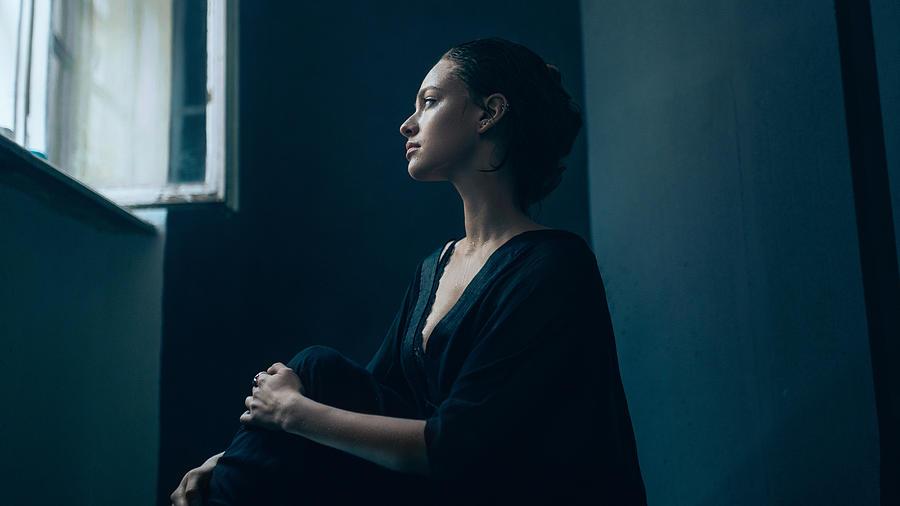 Portrait of young sad woman Photograph by Igor Ustynskyy