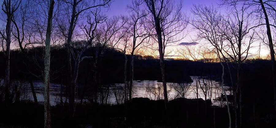 Potomac River Sunset Photograph