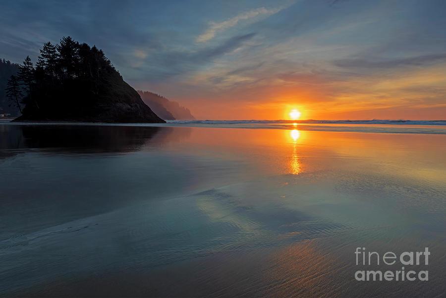 Proposal Rock Sunset Photograph