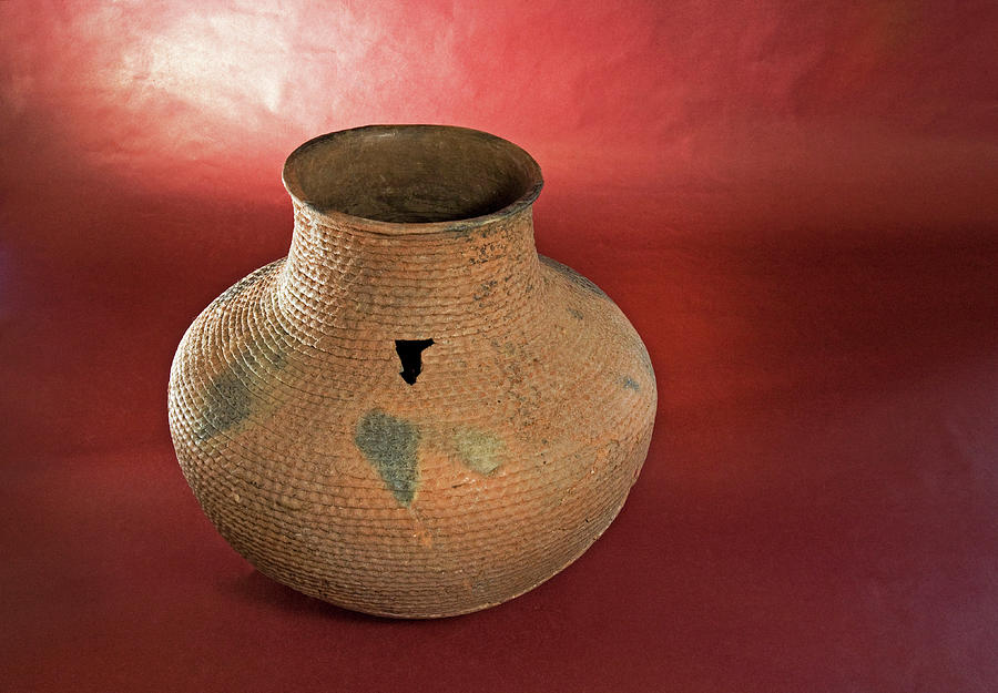 Pueblo Indian Pottery From New Mexico Photograph