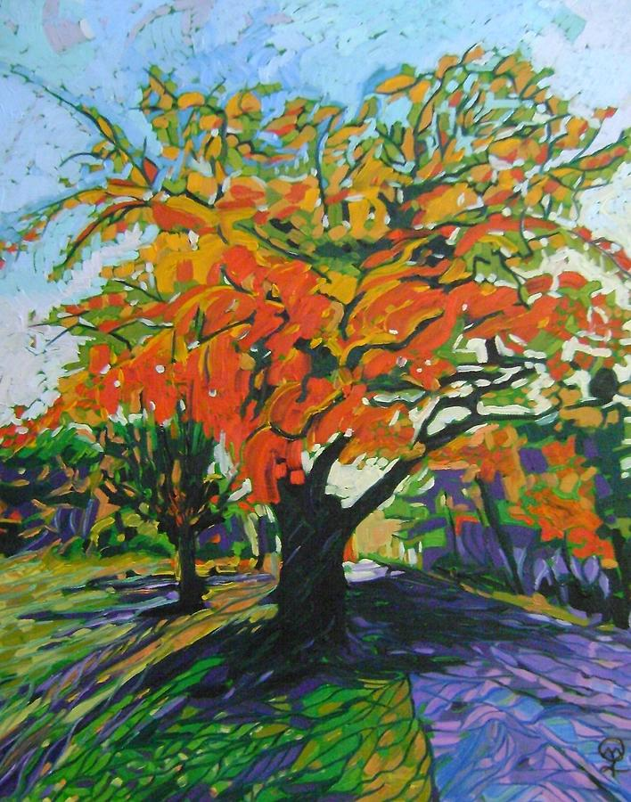 Quabbin Reservoir Painting - Quabbin Tree by Therese Legere