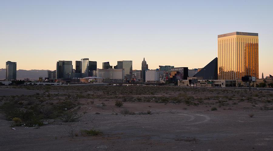 Raiders Buy Stadium Site In Las Vegas Photograph by Ethan Miller