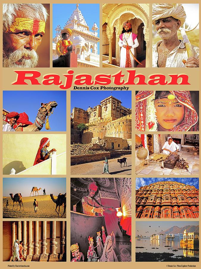 Rajasthan Travel Poster Photograph