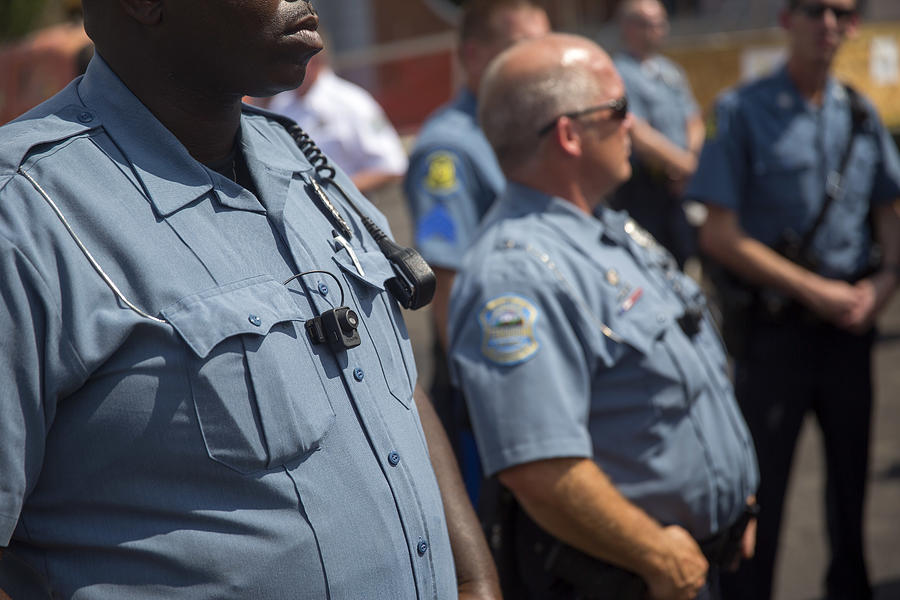Rally Held in Ferguson Over Police Killing Of Michael Brown Photograph by Aaron P. Bernstein