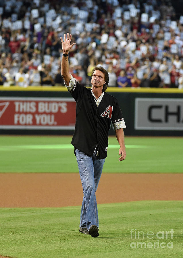 Randy Johnson Photograph by Norm Hall