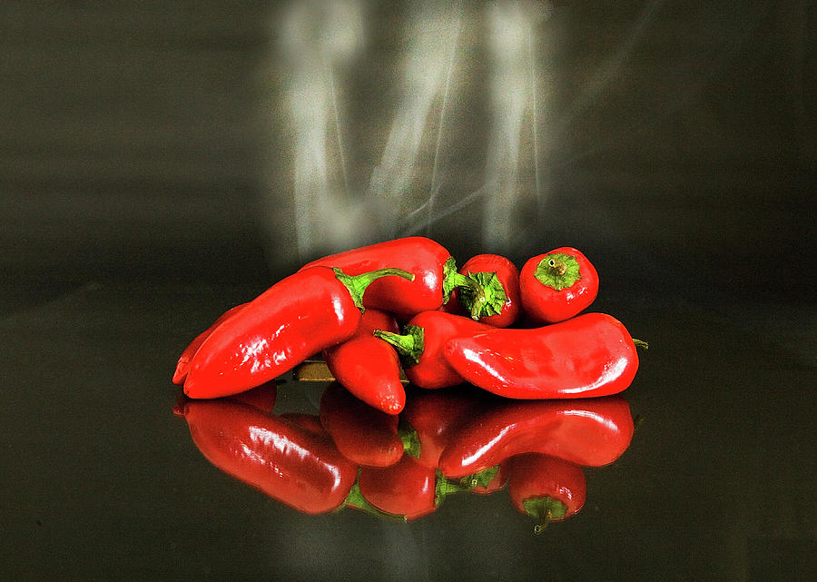 Red Chile Peppers Photograph