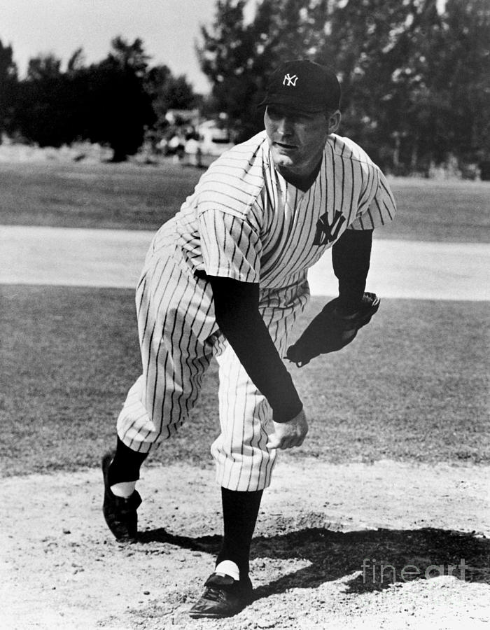 Red Ruffing Photograph by National Baseball Hall Of Fame Library