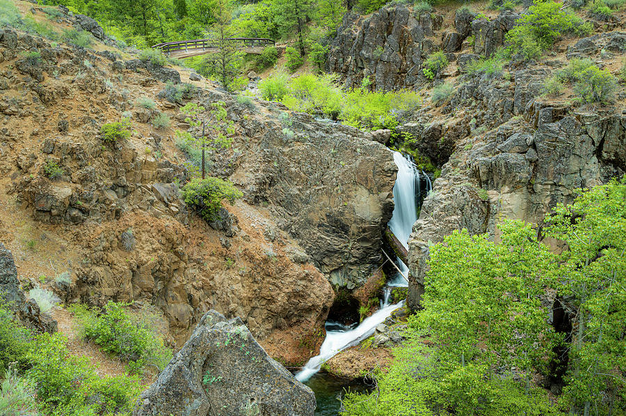 Rock Creek Falls Photograph
