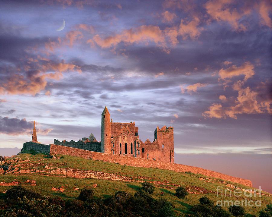 Horizontal Photograph - Rock Of Cashel by Edmund Nagele