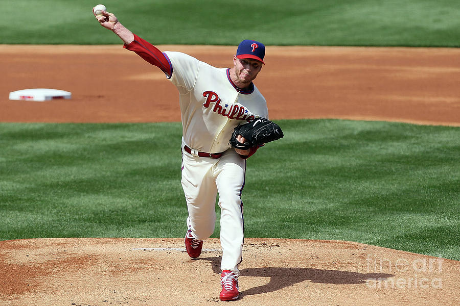 Roy Halladay Photograph by Jim Mcisaac