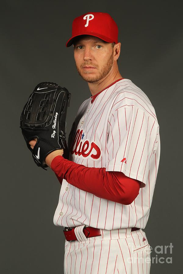 Roy Halladay Photograph by Nick Laham
