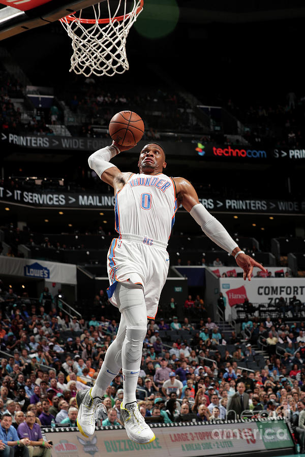 Russell Westbrook Photograph by Kent Smith