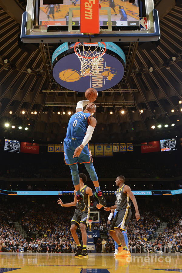 Russell Westbrook Photograph by Noah Graham