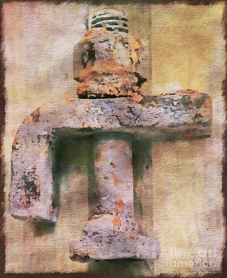 Rusty Metal Objects 7-4 Photograph by Debbie Portwood