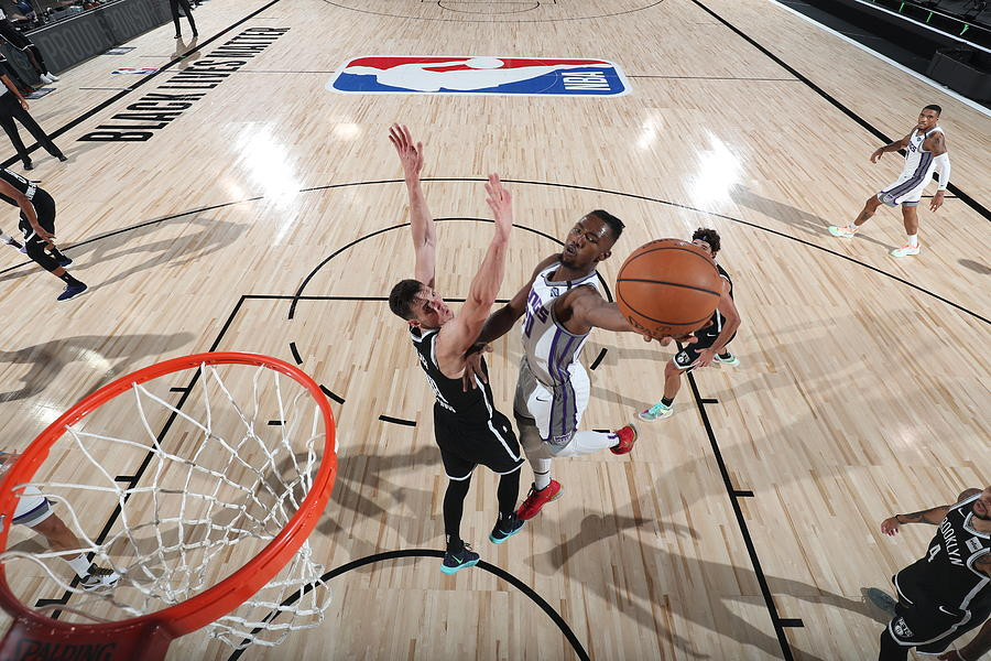 Sacramento Kings v Brooklyn Nets Photograph by David Sherman