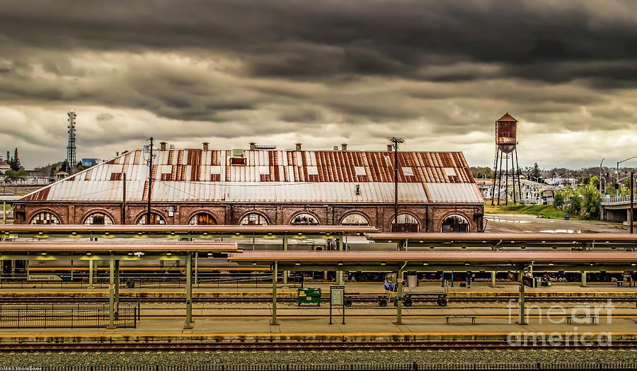 Sacramento Train Station Photograph
