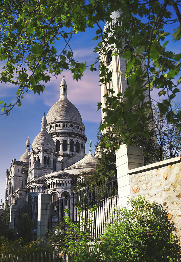 Sacre-coeur Basilica, Located In The Montmartre District Of Paris, France Photograph