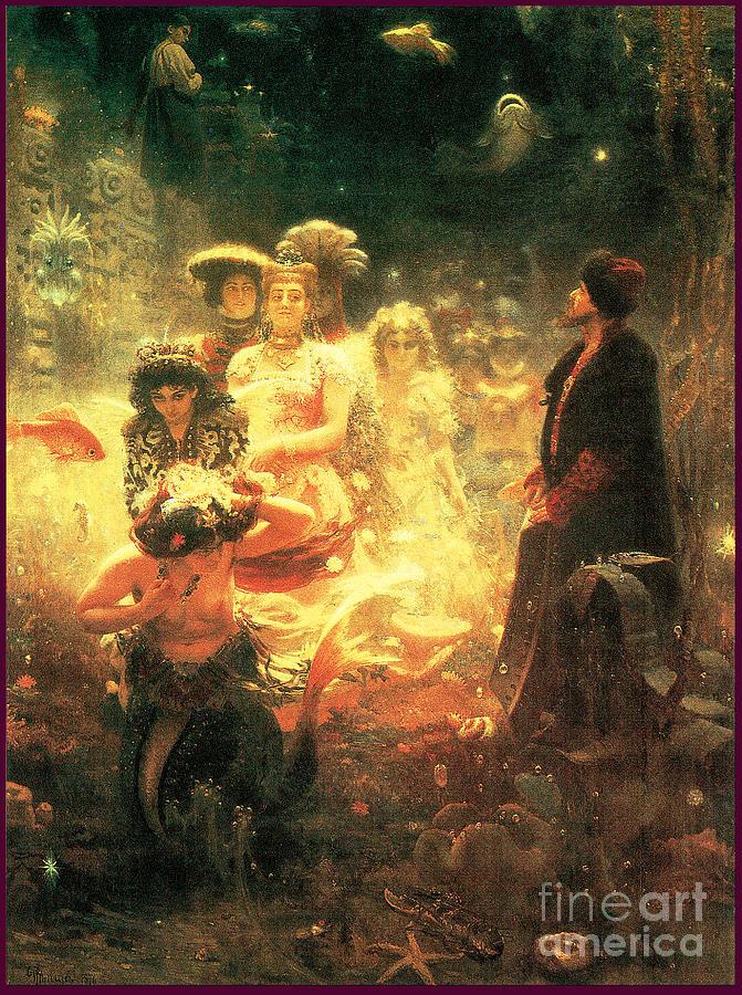 Sadko 1876 Painting