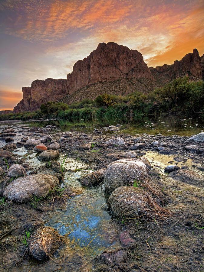 Salt River Sunrise by Sue Cullumber