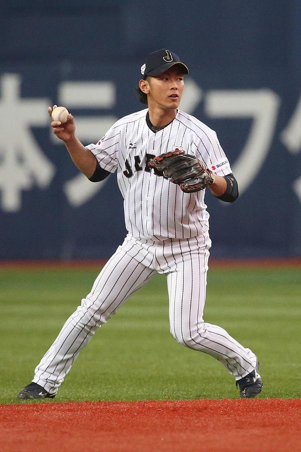 Samurai Japan v MLB All Stars - Game 1 Photograph by Atsushi Tomura