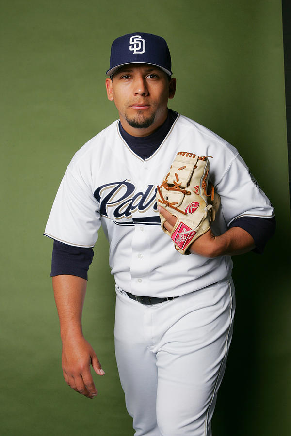 San Diego Padres Photo Day Photograph by Ronald Martinez