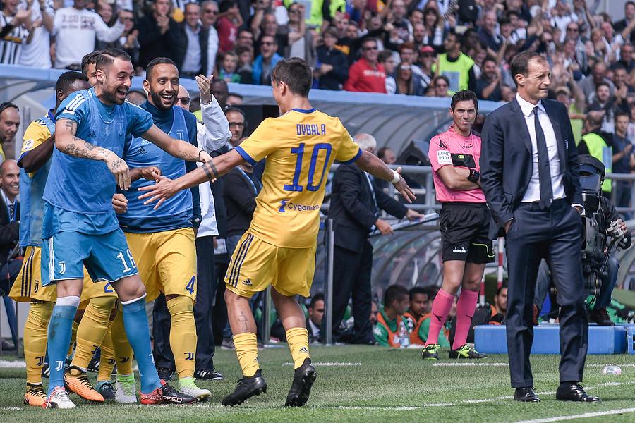 Sassuolo v Juventus Serie A 17/09/2017 Photograph by NurPhoto