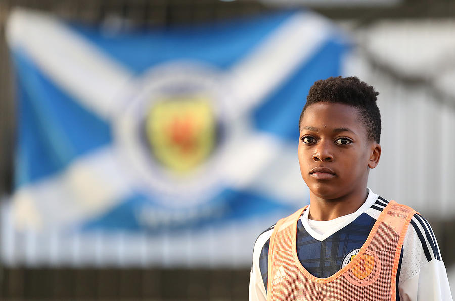 Scotland U16 v Northern Ireland U16 - Victory Shield Photograph by Ian MacNicol