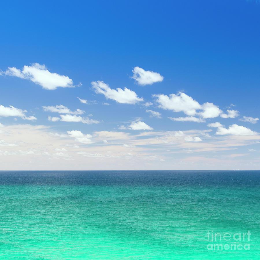Sea And Sky Photograph