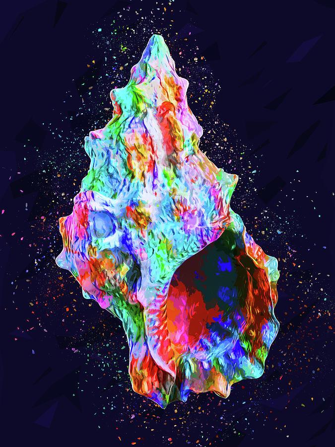 Sea Shell Digital Art