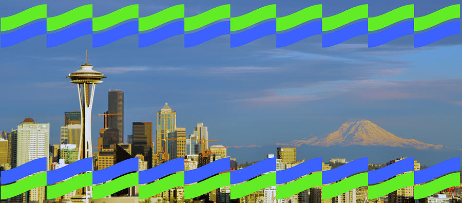 Seattle - Championship Colors by Brian O'Kelly