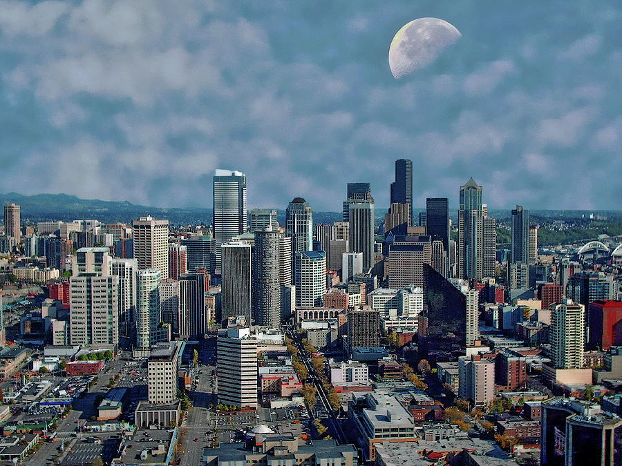Seattle Skyline Photograph