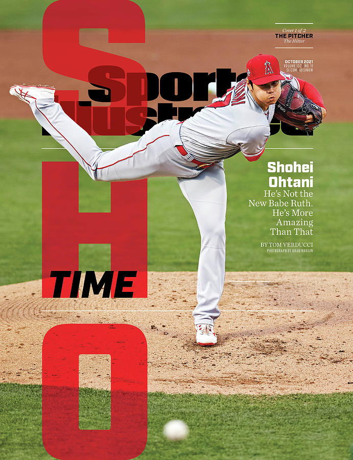 Sho Time, Los Angeles Angels Shohei Ohtani Cover Photograph by Sports Illustrated