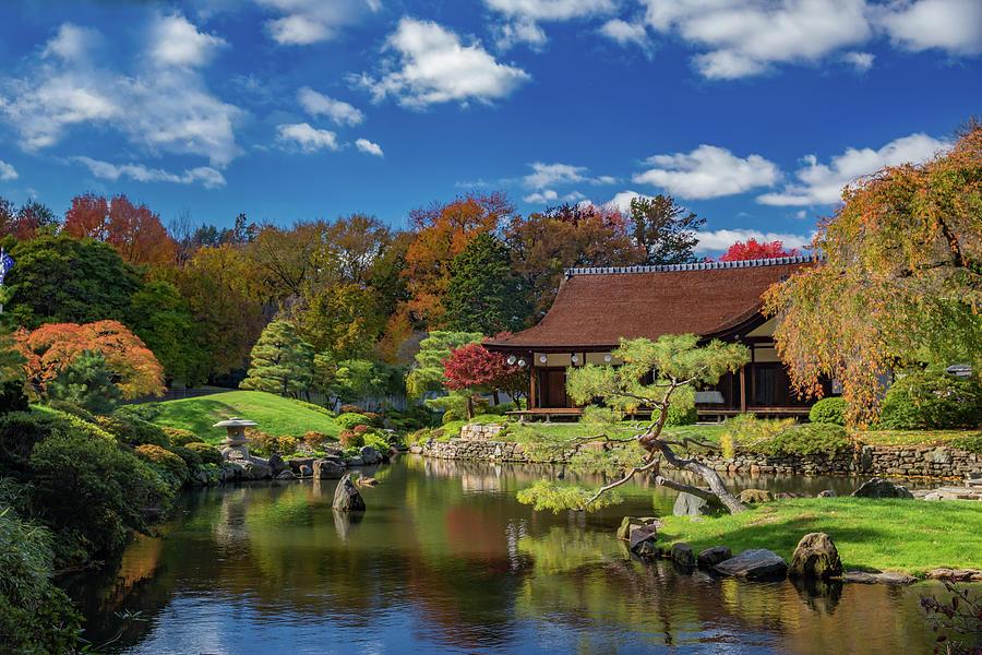 Shofuso Japanese House And Garden Photograph