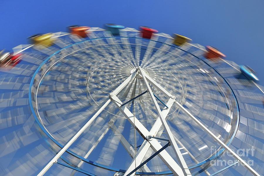 Small Colorful Ferris Wheel by Yali Shi