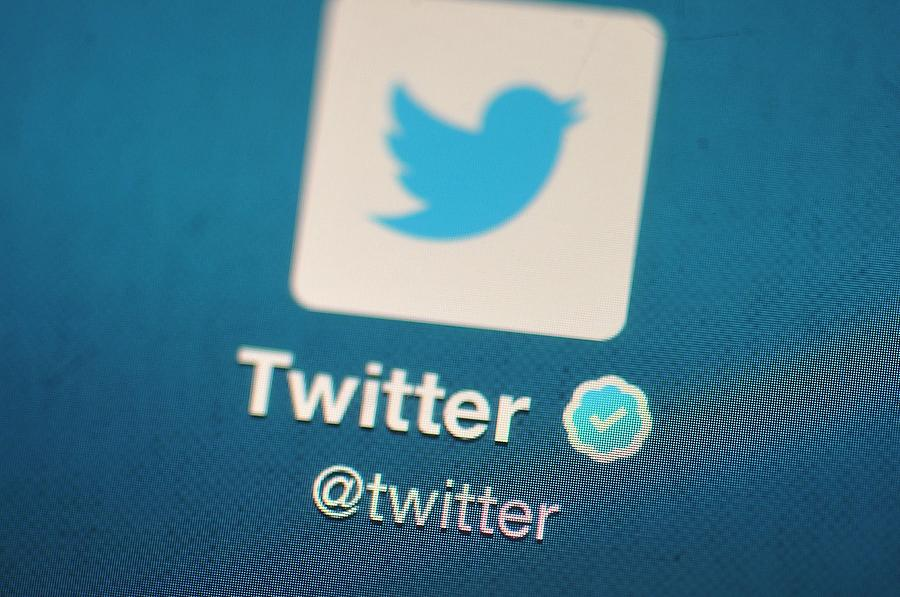 Social Media Site Twitter Debuts On The New York Stock Exchange Photograph by Bethany Clarke