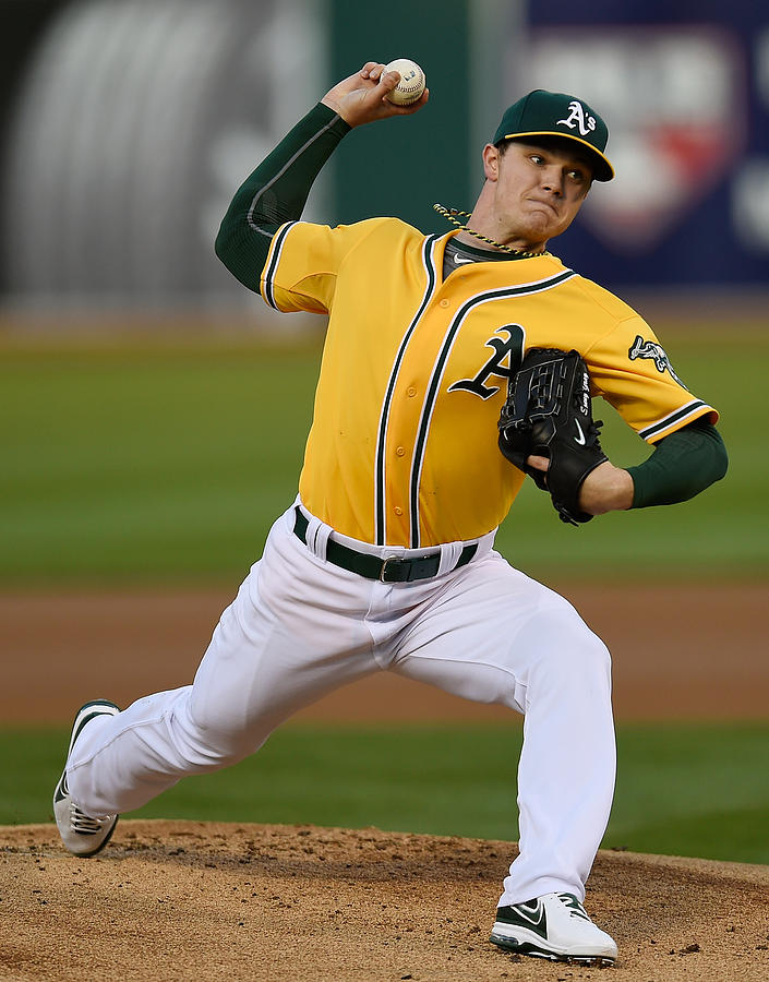 Sonny Gray Photograph by Thearon W. Henderson