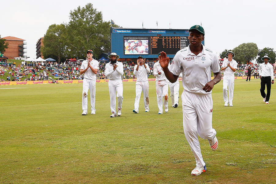 South Africa v England - Fourth Test: Day Three Photograph by Julian Finney