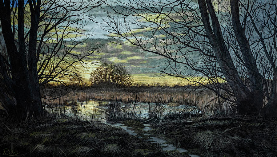 Landscape Painting - South Norwood Country Park by Raymond Ore
