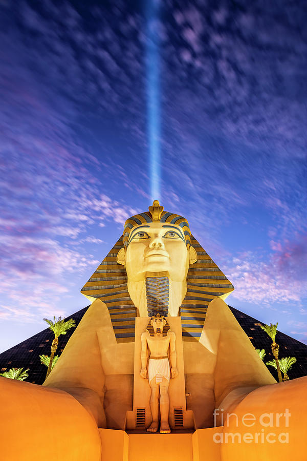 Sphinx at Luxor Hotel in Las Vegas by Bryan Mullennix