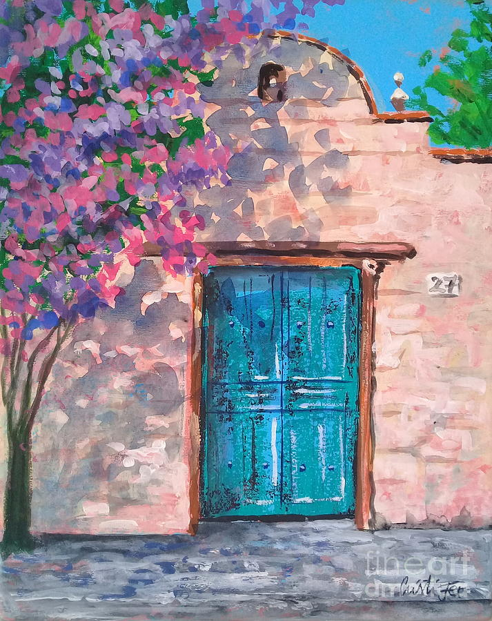 Spring In Mexico Painting