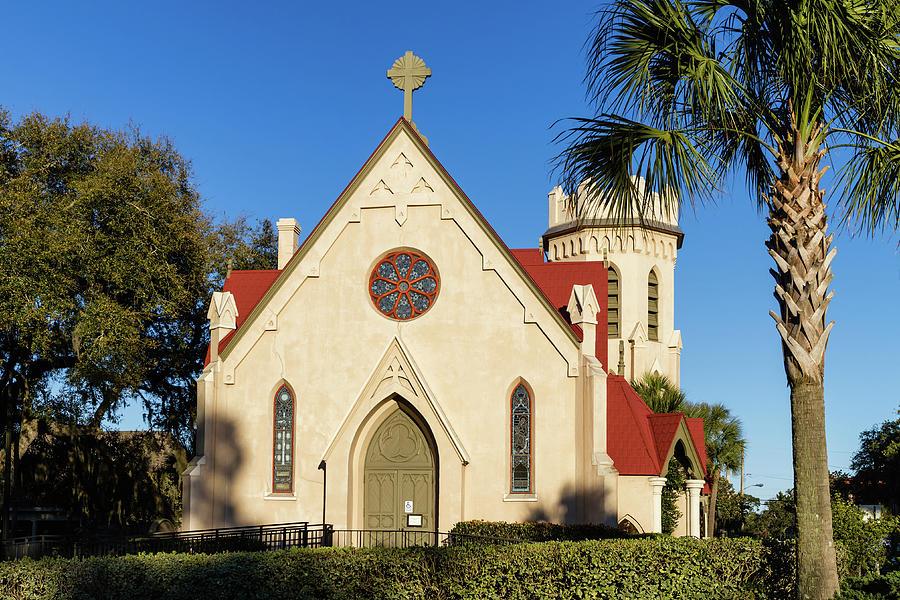 St. Peter's Episcopal Church, Fernandina Beach, Florida by Dawna Moore Photography