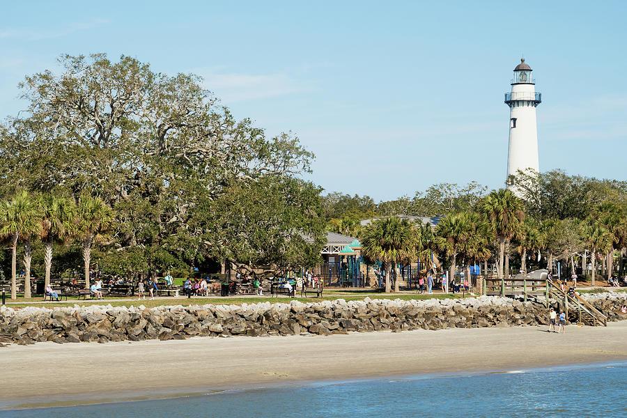 St. Simons Island Lighthouse, St. Simons Island, Georgia by Dawna Moore Photography
