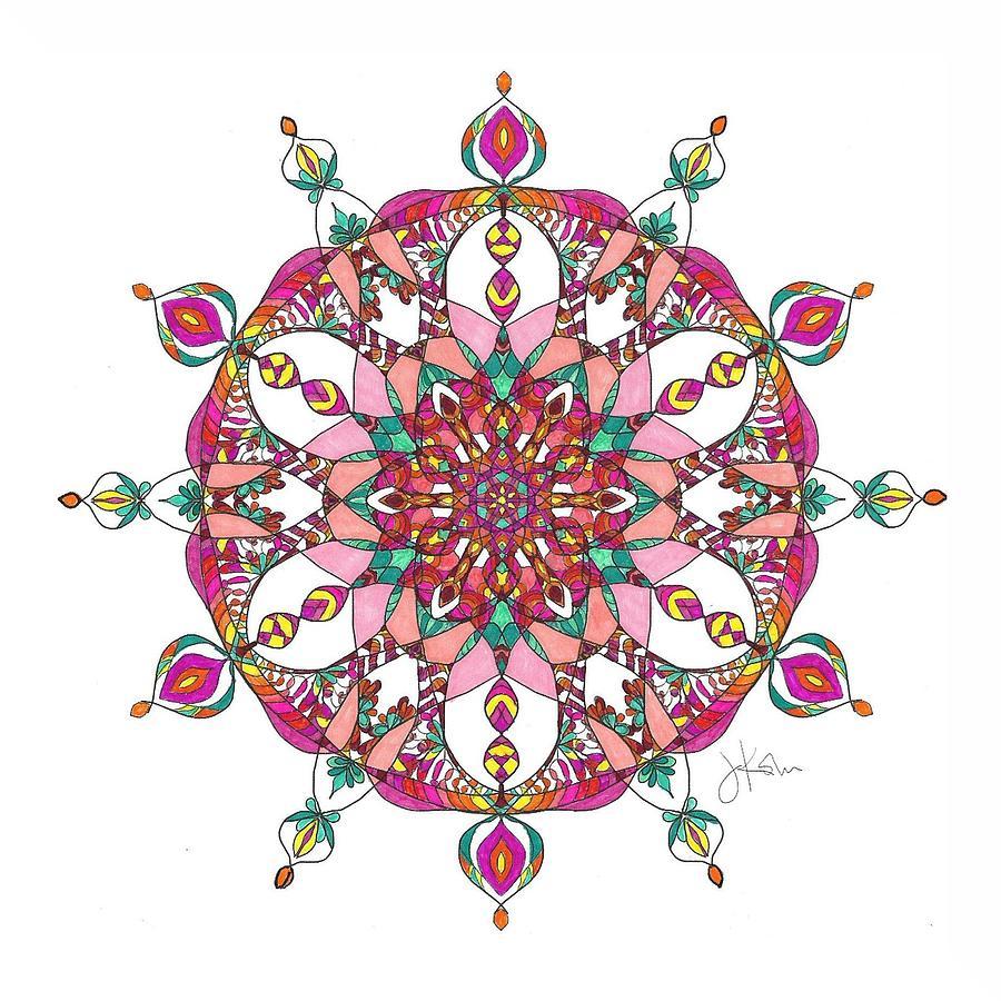 Stained Glass Mandala #19 by Jennifer Kohr