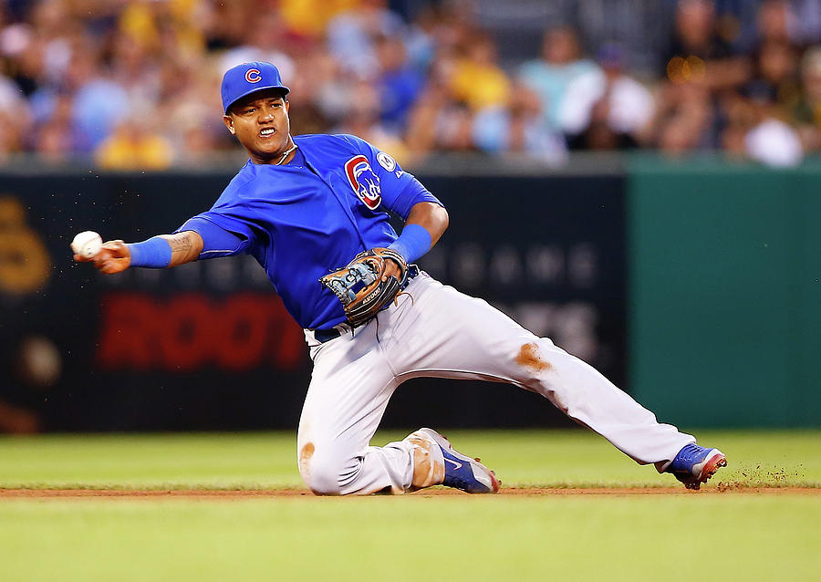 Starlin Castro Photograph by Jared Wickerham