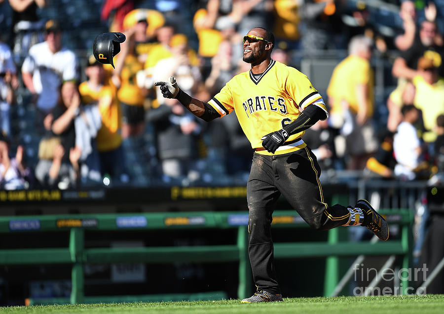 Starling Marte Photograph by Joe Sargent